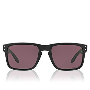 Oakley OO9102 Holbrook 9102E8 Matte Black Prizm Grey