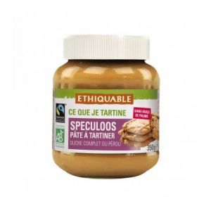 Ethiquable Pâte à tartiner aux spéculoos bio & équitable