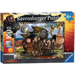 Ravensburger Puzzle Krokmou et ses amis 100 pièces