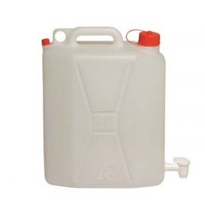 Ribimex Jerrican 20 litres alimentaire avec robinet
