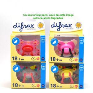 Difrax Sucette Dental (18 mois +)