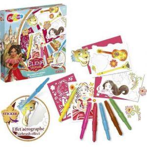 Lansay Blopens Mes créations stickers Elena d'Avalor