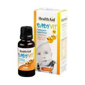 HealthAid Babyvit multivitamines 25 ml