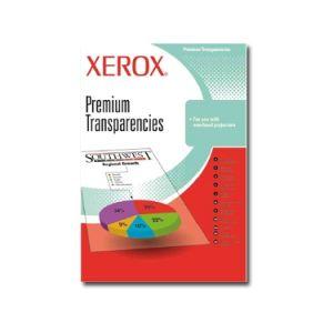 Xerox Ramette de 50 transparents premium laser PCL - Papier rétroprojecteur