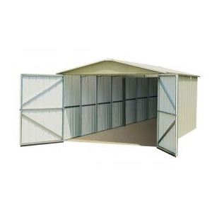 Yardmaster G1024 - Garage en métal 20,31 m2