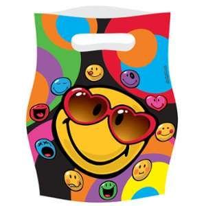 Amscan 552431 - 6 sacs de fête Smiley Express