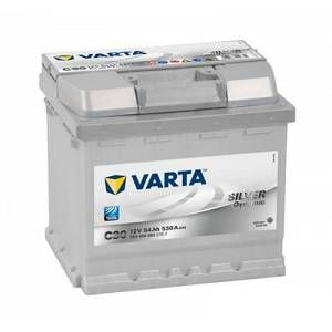 Varta Batterie C30 Silver Dynamic 54 Ah - 530 A