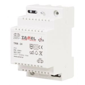 Zamel Transformateur de sonnette TRM-24 24 V/AC 0.63 A