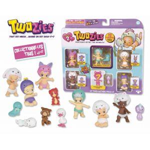 Giochi Preziosi Twozies Série 2 Figurines AmiAmis 6 Bébés + 6 Animaux