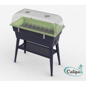 Calipso Jardinière COMBI 40 L gris/turquoise