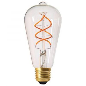 Girard sudron Ampoule LED à Filament E27 5W Edison TWISTED Claire