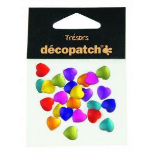 decopatch Set 24 cabochons curs 1 cm - Flashy