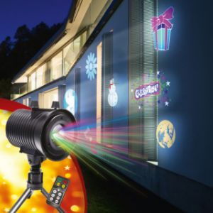 Passat Projecteur LED Festilight 6 ambiances avec télécommande