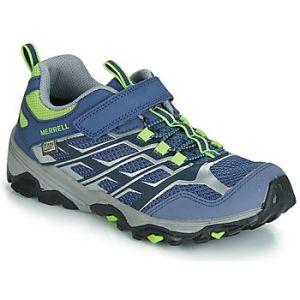 Merrell Chaussures enfant M-MOAB FST LOW A/C WTRPF bleu - Taille 29,30,32,33,34