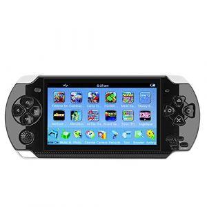 Qumox Console de Jeux Retro 4.3 8Go 100 jeux vidéo Game Dual Joystick Camera