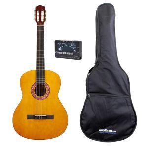 Brighton Easy Pack CG1 taille 1/2 - Guitare classique avec accessoires