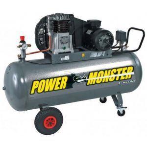 Mecafer 425285 - Compresseur Power Monster triphasé 200L 4HP 10 bars