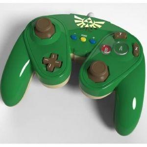 PDP Manette Fight Pad modèle Link pour Wii U