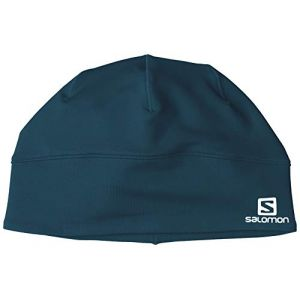 Salomon Bonnet Multisport Unisexe, ACTIVE BEANIE, Bleu (Reflecting Pond), Taille  unique e0a4f6051a3