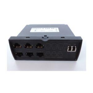 Legrand Bloc switch Ethernet 6 ports RJ45 + 1 port optique 100Mbits/s pour baie de brassage reseau LC - LCS² 033505