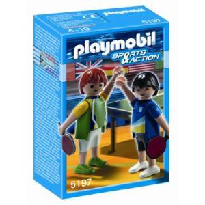 Playmobil 5197 - Deux joueurs de tennis de table