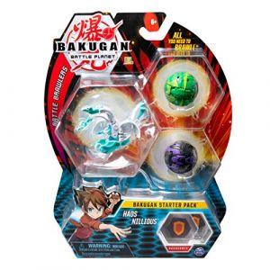 Bakugan Starter Pack figurine Haos Nillious + cartes Battle Planet