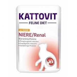 Kattovit Renal spécial reins - Paté pour chat : poulet (6 x 85 g)