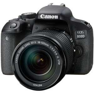 Canon EOS 800D (avec objectif 18-135mm)