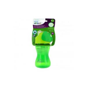 Philips Glasses With Green Straw 300 Ml 300 Ml