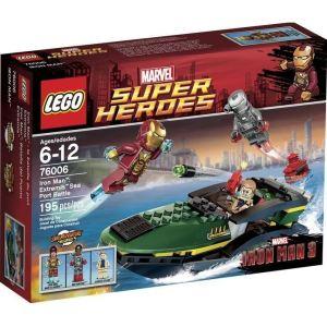 Lego 76006 - Super Heroes : Iron Man - Extremis Sea Port Battle