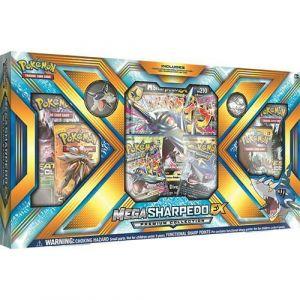 Asmodée Coffret Pokémon Mega Sharpedo Ex Premium collection en anglais