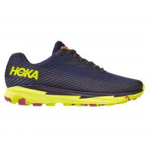 Hoka one one Paire de chaussures de trail femme hoka torrent 2 violet jaune 39 1 3