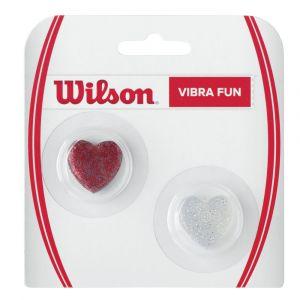 Wilson Vibra Fun Glitter Hearts