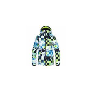 Quiksilver Mission Printed Youth Jk Lime Green Money Time