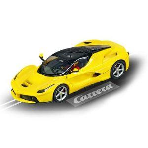 Carrera Toys 27458 - LaFerrari jaune pour circuit circuit Evolution