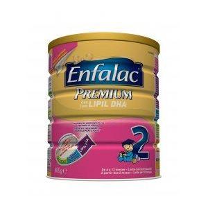 Enfalac Lait Premium Lipil DHA 2ème âge 800 g - de 6 à 12 mois