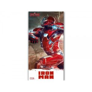 SD Toys Poster en verre Marvel Civil War Iron Man (30 x 60 cm)