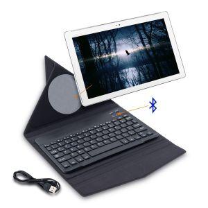 Kwmobile Slim Smart Cover Étui avec clavier bluetooth pour Asus Zenpad 10 Z300C / Z300CL / Z300CG en noir