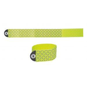 Wowow Bande réfléchissante - env. 15x95 cm avec attache velcro jaune Accessoires sécurité