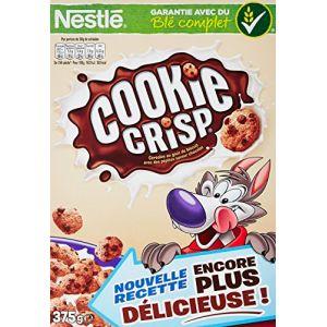 Nestlé Cookie Crisp - Céréales du Petit Déjeuner - Paquet de 375g - Lot de 6
