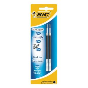 Bic 2 recharges pour stylos roller Velocity (0,7 mm)