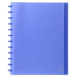 Exacompta Protège-documents à anneaux et pochettes détachables 60 vues - A4 - Vert - Lot de 4