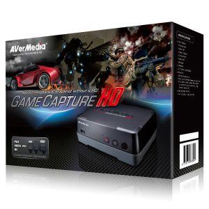 AverMedia Game Capture HD (C281) - Boîtier USB 2.0 d'acquisition vidéos HD (Capture vidéo pour jeux vidéo PS3/XBox 360/PC)
