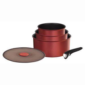 Tefal L6599502 - 3 casseroles Ingenio 5 Performance avec couvercle et poignée