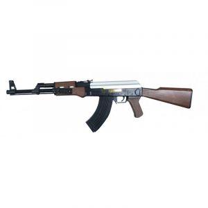 MH 21464 fusil d'assaut à billes style AK47 à Ressort / ABS / Rechargement Manuel (0.5 joule) (HEROES13006, )