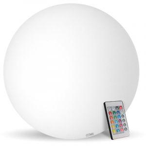 Eclairage design Boule lumineuse 60cm rechargeable flottante