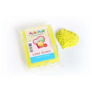 Image de FunCakes Pâte à sucre vert lime 250 grs