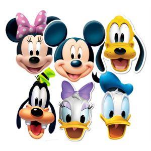 6 masques Mickey et ses amis Disney