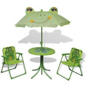 VidaXL Jeu de mobilier jardin pour enfants 4 pièces