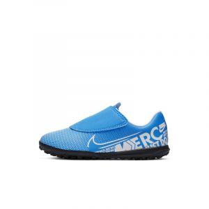 Nike Chaussures de football pour terrain synthétique Vapor 13 Club TF PS V Bleu - Taille 28